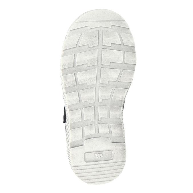 Knöchelhohe Sneakers aus Leder mini-b, Blau, 214-9203 - 17