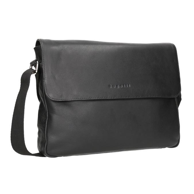 Schwarze Crossbody-Tasche aus Leder bugatti-bags, Schwarz, 964-6011 - 13
