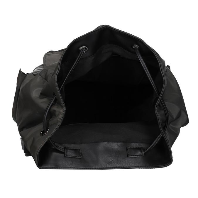 Unisex-Rucksack mit Taschen bata, Grűn, 969-7163 - 15