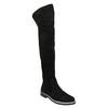 Overknee-Stiefel aus geschliffenem Leder bata, Schwarz, 593-6605 - 13