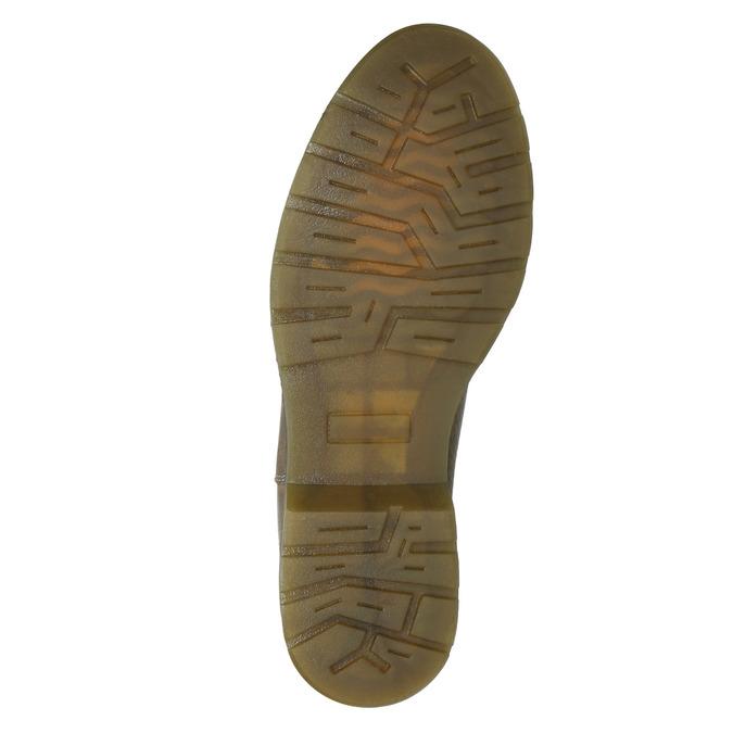 Damen-Chelsea-Boots aus Leder bata, Braun, 596-7680 - 17