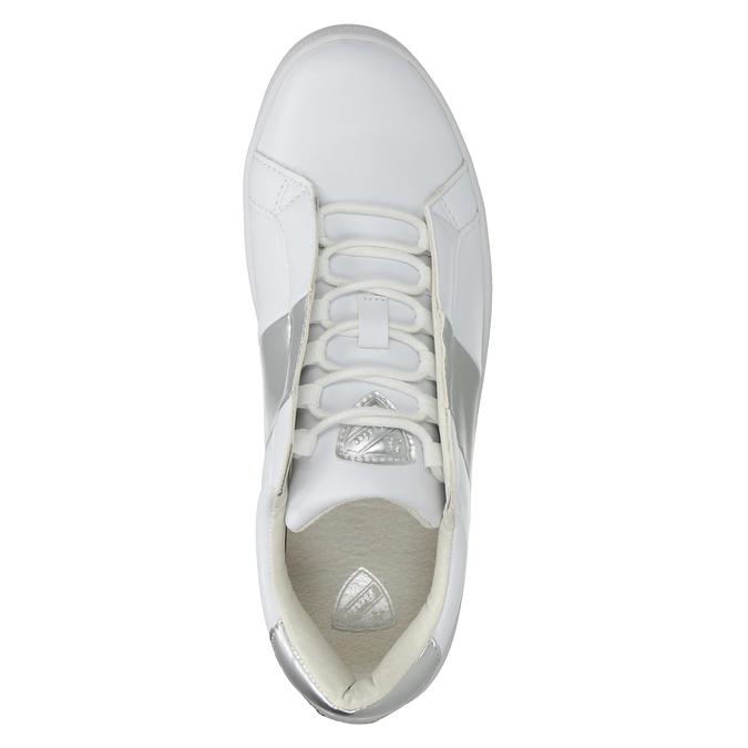 Weisse Damen-Sneakers atletico, Weiss, 501-1171 - 15