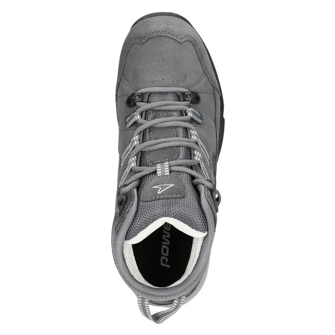 Knöchelschuhe aus Leder im Outdoor-Stil power, Grau, 503-2232 - 15