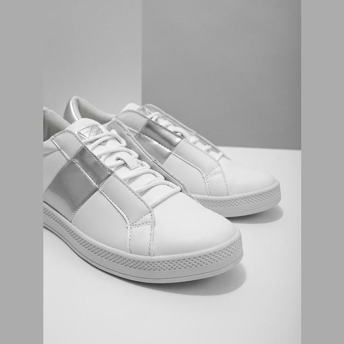 Weisse Damen-Sneakers atletico, Weiss, 501-1171 - 14