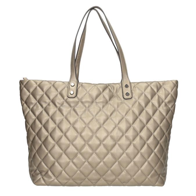 Gesteppte Damenhandtasche bata, Braun, 961-4139 - 26