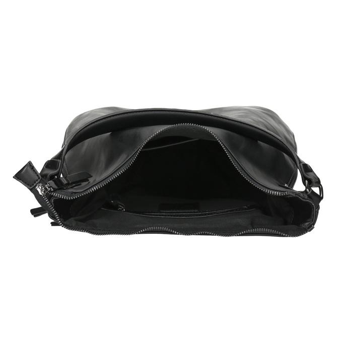 Schwarze Hobo-Damenhandtasche bata, Schwarz, 961-6177 - 15