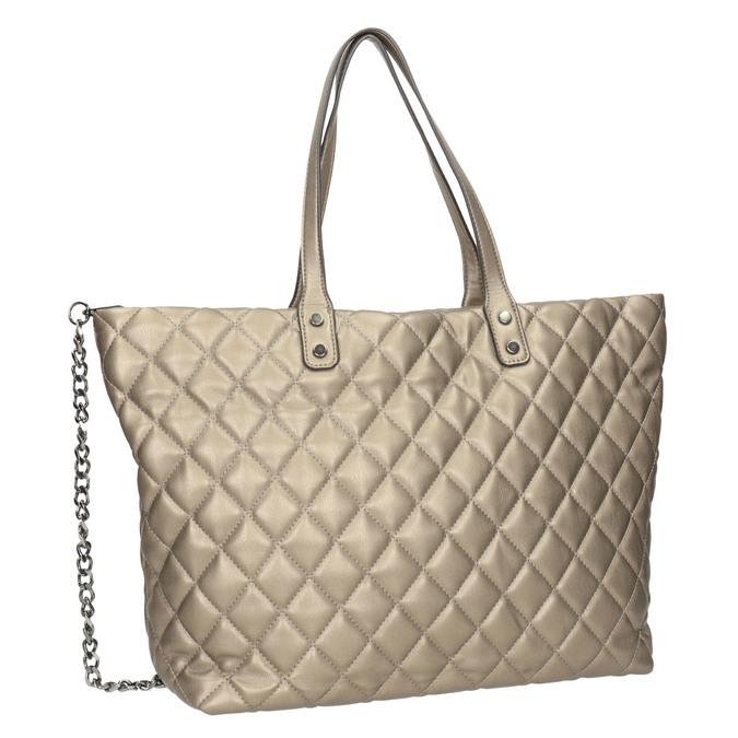 Gesteppte Damenhandtasche bata, Braun, 961-4139 - 13