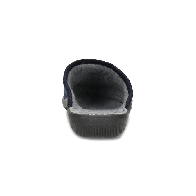 Blaue Damen-Hausschuhe bata, Blau, 579-9621 - 15
