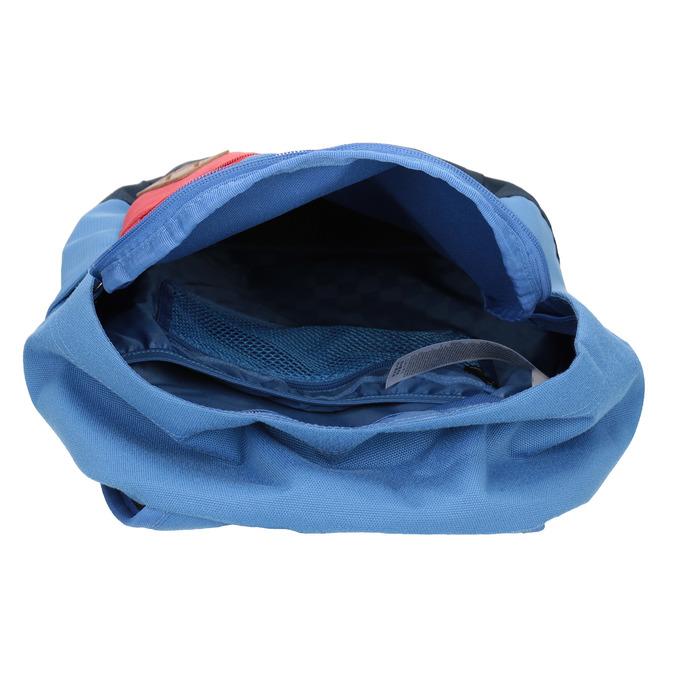 Blauer Rucksack mit roter Tasche vans, Blau, 969-9095 - 15