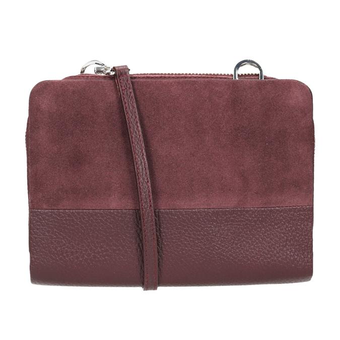 Rote Crossbody-Handtasche aus Leder royal-republiq, Rot, 963-5050 - 16