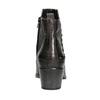Damenstiefeletten aus Leder mit Metallzwecken bata, Schwarz, 696-6652 - 16