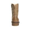 Damenschnürschuhe aus Leder bata, Braun, 596-4663 - 16