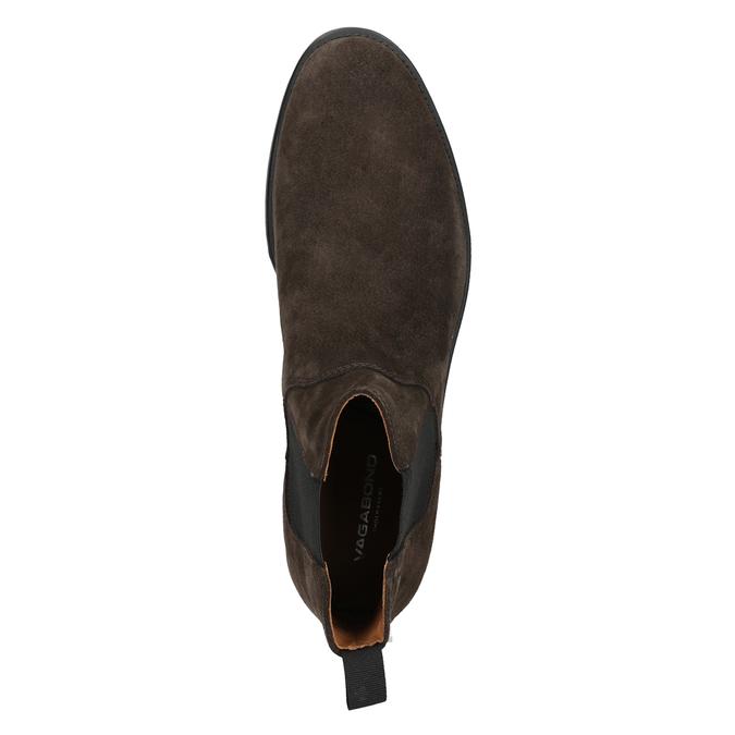 Herren-Chelsea-Boots aus Leder vagabond, Braun, 813-4019 - 15