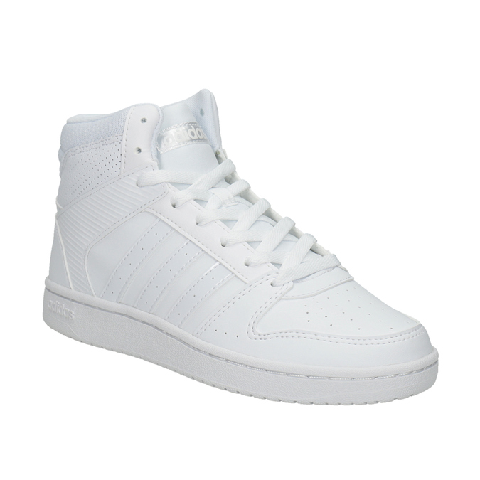 Weisse, knöchelhohe Sneakers adidas, Weiss, 501-1212 - 13