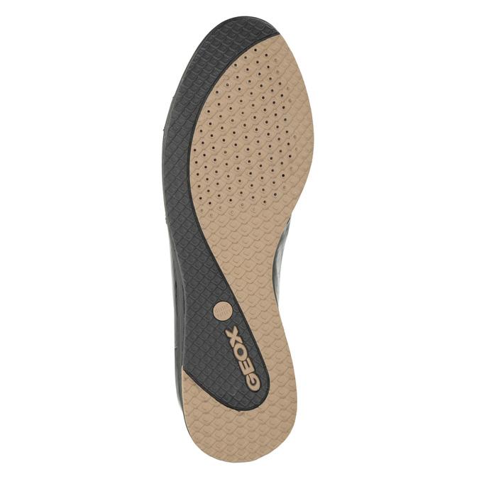 Schwarze Sneakers aus Leder geox, Schwarz, 528-6083 - 17