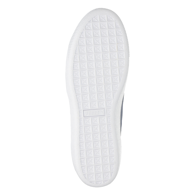 Damen-Sneakers aus Leder puma, Blau, 503-9169 - 17