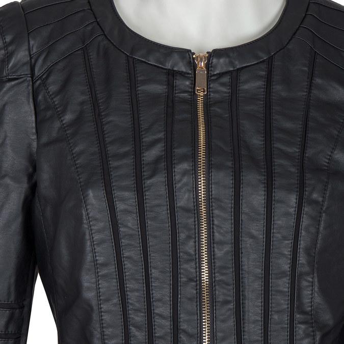 Damenjacke mit goldenen Details bata, Schwarz, 971-6204 - 16