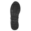 Schwarze Damen-Sneakers geox, Schwarz, 621-6045 - 17