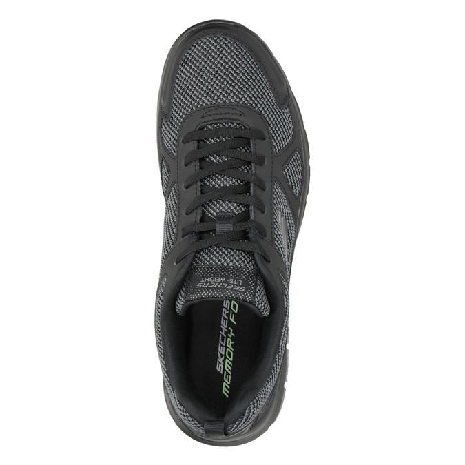 Schwarze Herren-Sneakers skechers, Schwarz, 809-6331 - 15
