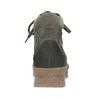 Damen-Flatform-Schuhe aus Leder bata, Grau, 596-2673 - 16