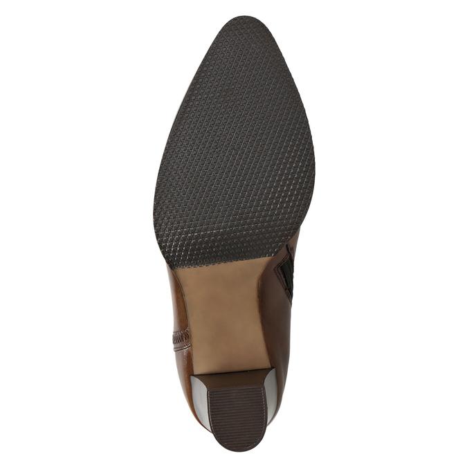 Lederstiefeletten bata, Braun, 794-4650 - 17