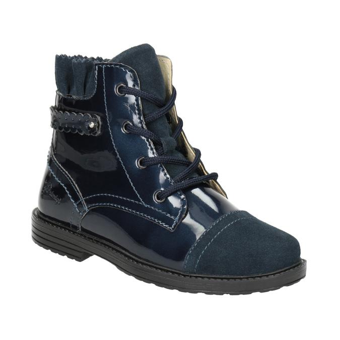 Kinder-Knöchelschuhe aus Leder primigi, Blau, 228-9001 - 13