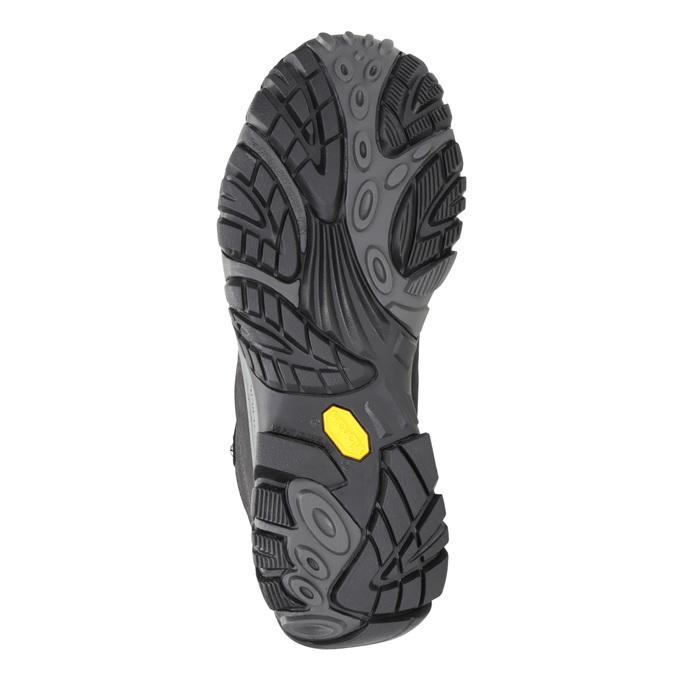 Knöchelschuhe aus Leder im Outdoor-Stil merrell, Schwarz, 806-6569 - 17