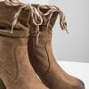 Braune Stiefel mit Absatz bata, Braun, 799-3613 - 14