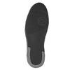 Knöchelhohe Herren-Sneakers aus Leder bata, Schwarz, 844-6644 - 17