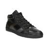 Knöchelhohe Herren-Sneakers aus Leder bata, Schwarz, 844-6644 - 13