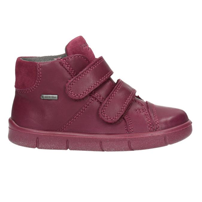 Kinder-Knöchelschuhe aus Leder, Rot, 124-5037 - 26