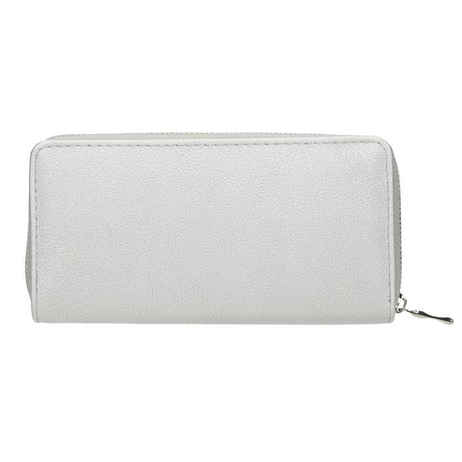Silberne Damen-Geldbörse bata, Silber , 941-2155 - 16