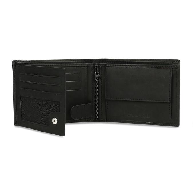 Herren-Geldbörse aus Leder bata, Schwarz, 944-6188 - 15