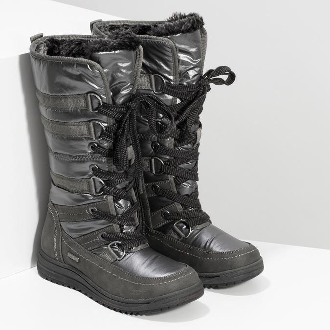 Damen-Schneestiefel bata, Grau, 599-2619 - 26