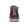 Herren-Knöchelschuhe aus Leder bata, Braun, 826-3926 - 16