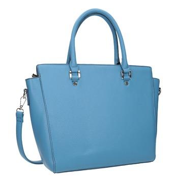 Blaue Damenhandtasche bata, 961-9845 - 13