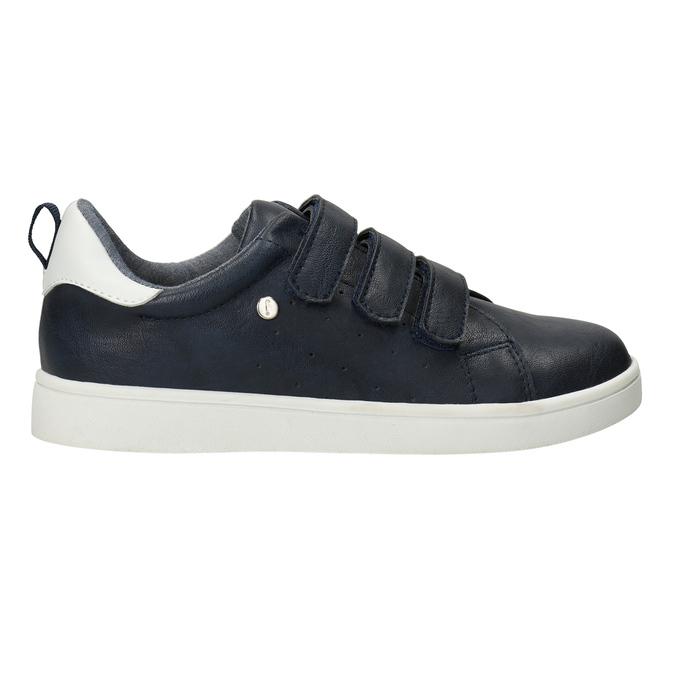 Legere Kinder-Sneakers mit Klettverschlüssen mini-b, Blau, 411-9609 - 26