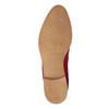 Rote Lederstiefeletten bata, Rot, 593-5611 - 17