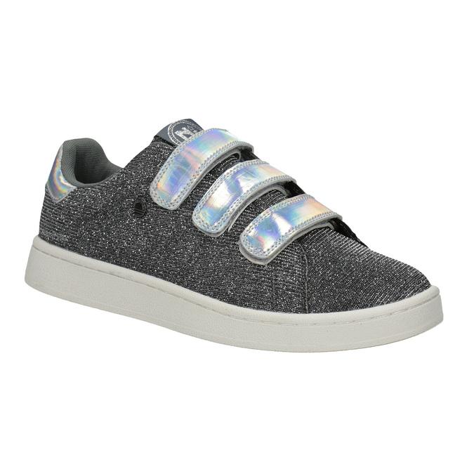 Damen-Sneakers mit Klettverschlüssen north-star, Silber , 549-1604 - 13