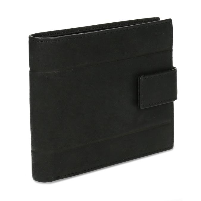 Herrengeldbörse aus Leder bata, Schwarz, 944-6210 - 13