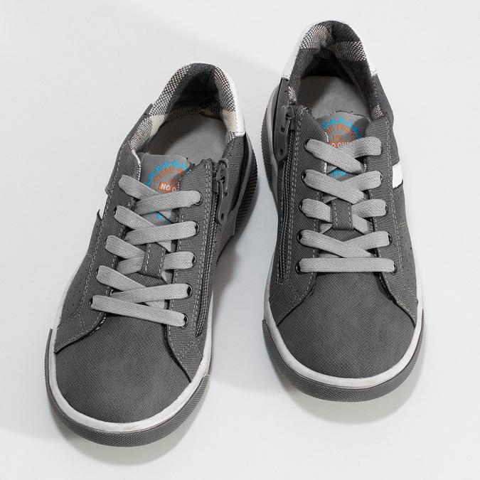 Kinder-Sneakers mit Perforation mini-b, Grau, 411-2102 - 16