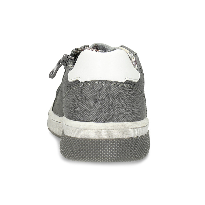 Kinder-Sneakers mit Perforation mini-b, Grau, 411-2102 - 15