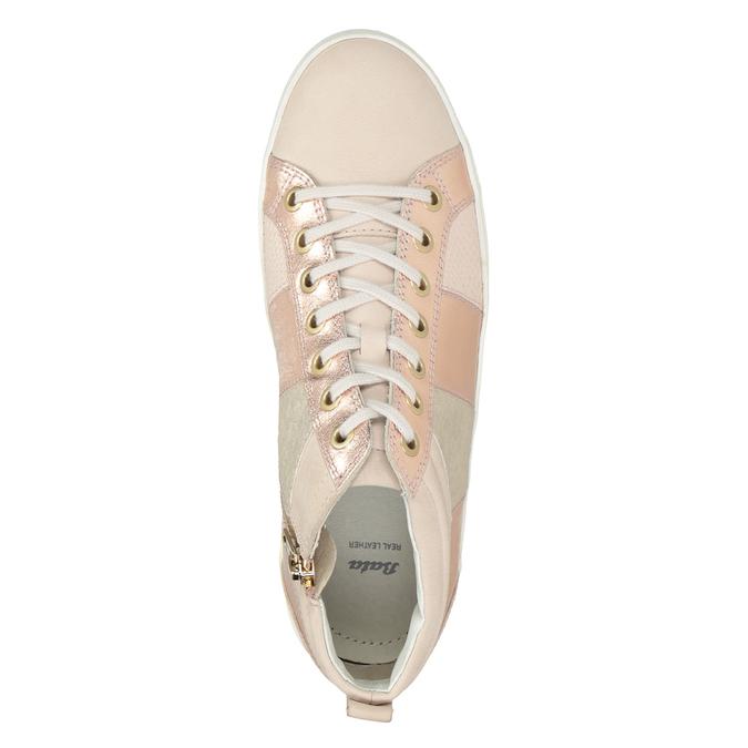 Knöchelhohe Damen-Sneakers bata, Rosa, 546-5608 - 15