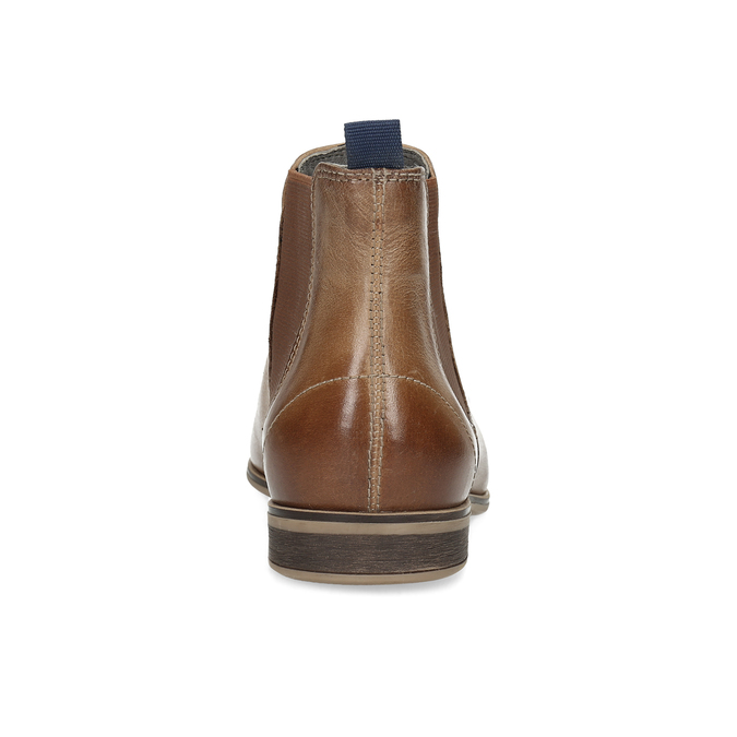 Damen-Chelsea-Boots aus Leder bata, Braun, 596-3684 - 15