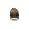 Herren-Leder-Sneakers bata, Braun, 846-4617 - 15