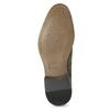 Herrenhalbschuhe im Derby-Stil mit Perforation bata, Braun, 823-8616 - 18