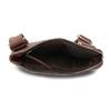Braune Crossbody-Ledertasche bata, Braun, 964-4288 - 15