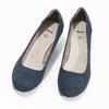 Lederpumps der Weite H bata, Blau, 623-9602 - 16