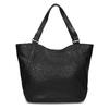 Schwarze Handtasche mit Zwecken bata, Schwarz, 961-6787 - 16