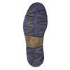 Stiefeletten aus Leder bata, Grau, 896-2678 - 18